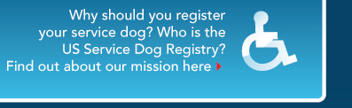 The United States Service Dog Registry
